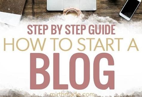 Cum creez un blog