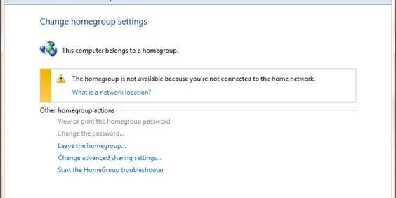 Cum putem deconecta un calculator din Homegroup din Windows 7