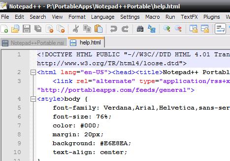Notepad versiuni si specificatii