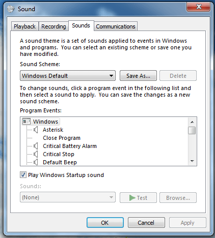 Cum pornesc Windows 7 fara sunete