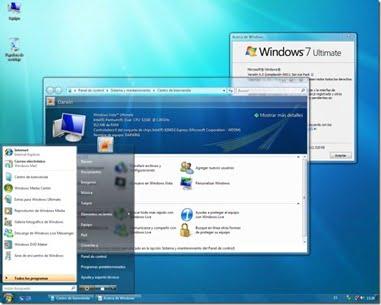 Transforma Windows XP to Windows 7